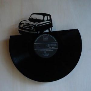 Disque Vinyle D 233 Coup 233 D 233 Coration Vintage Horloge 4l